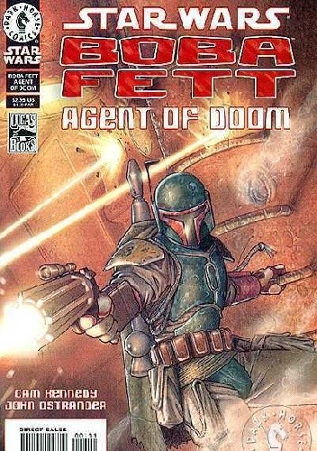 Okładka książki Star Wars: Boba Fett: Agent of Doom