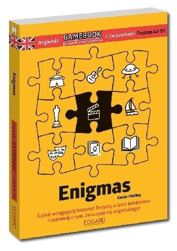 Okładka książki Angielski Gamebook z ćwiczeniami Enigmas