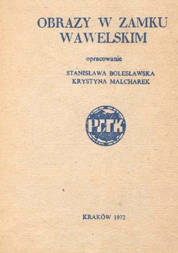 Okładka książki Obrazy w Zamku Wawelskim
