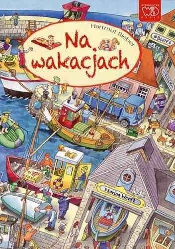 Okładka książki Na wakacjach