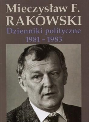 Okładka książki Dzienniki polityczne 1981-1983