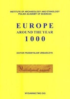 Okładka książki Europe around the year 1000