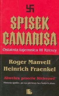 Okładka książki Spisek Canarisa. Ostatnia tajemnica III Rzeszy