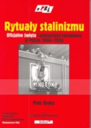 Okładka książki Rytuały stalinizmu