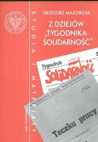 Okładka książki z dziejów tygodnika Solidarność