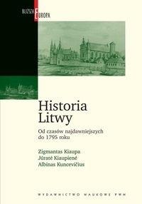 Okładka książki Historia Litwy od czasów najdawniejszych do 1795 roku