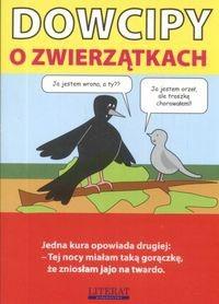 Okładka książki Dowcipy o zwierzątkach
