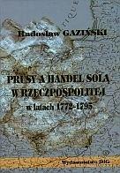 Okładka książki Prusy a handel solą w latach 1775-1795