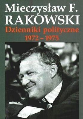 Okładka książki Dzienniki polityczne 1972-1975