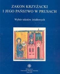 Okładka książki zakon krzyżacki i jego państwo w Prusach