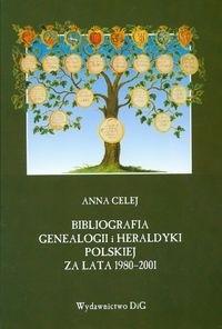 Okładka książki Bibliografia genealogii i heraldyki polskiej za lata 1980-2001