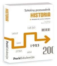 Okładka książki Szkolny przewodnik-Historia