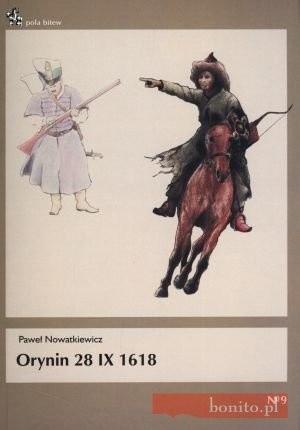 Okładka książki Orynin 28. X. 1618