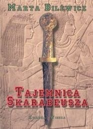 Okładka książki Tajemnica skarabeusza