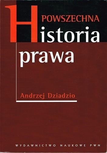 Okładka książki Powszechna historia prawa
