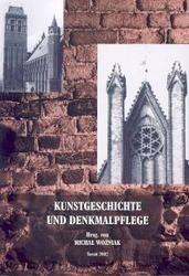Okładka książki Kunstgeschichte und Denkmalpflege. IV. Tagung des Arbeitskreis deutscher und polnischer Kunsthis