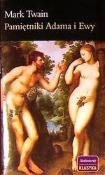 Okładka książki Pamiętniki Adama i Ewy