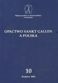 Okładka książki Opactwo Sankt Gallen a Polska