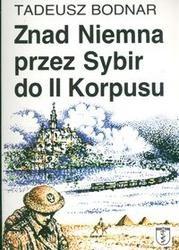 Okładka książki znad Niemna przez Sybir do II Korpusu