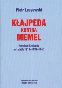 Okładka książki Kłajpeda kontra Memmel