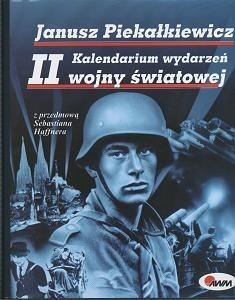 Okładka książki Kalendarium wydarzeń II Wojny Światowej