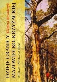 Okładka książki Dzieje granicy mazowiecko krzyżackiej między Drwęcą a Pisą