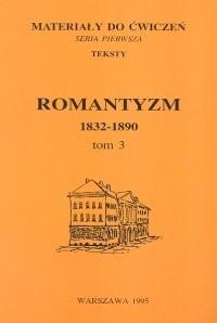 Okładka książki Romantyzm 1832-1890 Tom 3
