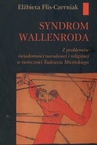 Okładka książki Syndrom Wallenroda z problemów świadomości narodowej i ...