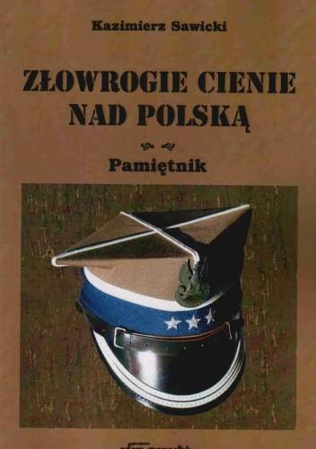 Okładka książki złowrogie cienie nad Polską