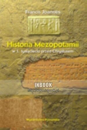 Okładka książki Historia Mezopotamii w 1. tysiącleciu przed Chrystusem