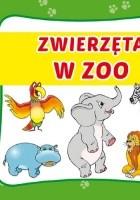 Zwierzęta w zoo. Harmonijka mała