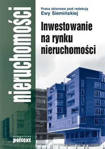 Okładka książki Inwestowanie na rynku nieruchomości
