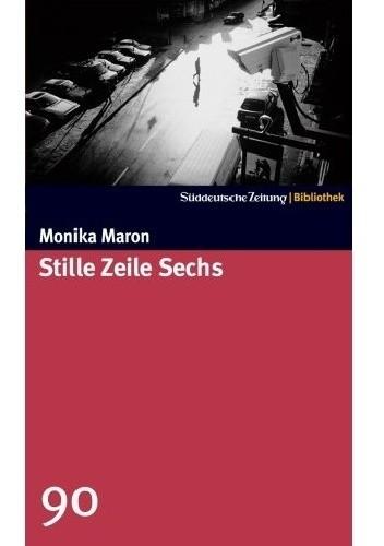 Okładka książki Stille Zeile Sechs