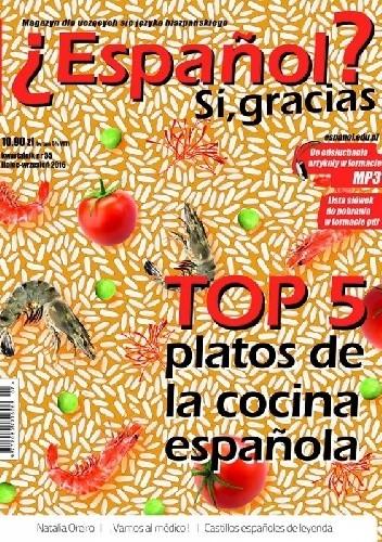 Okładka książki ¿Español? Sí, gracias. Numer 35 (lipiec/sierpień/wrzesień 2016)
