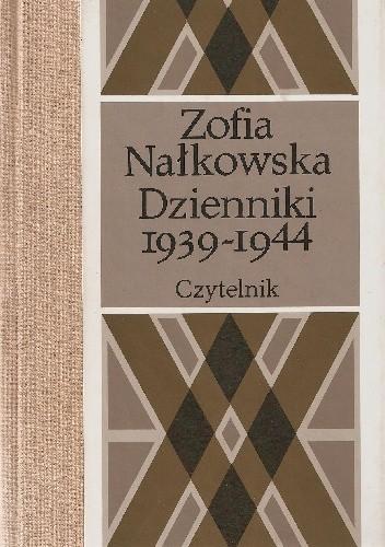 Okładka książki Dzienniki 1939-1944