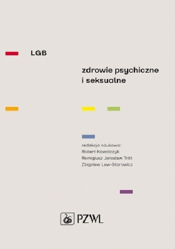 Okładka książki LGB. Zdrowie psychiczne i seksualne