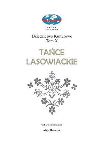 Okładka książki Tańce Lasowiackie