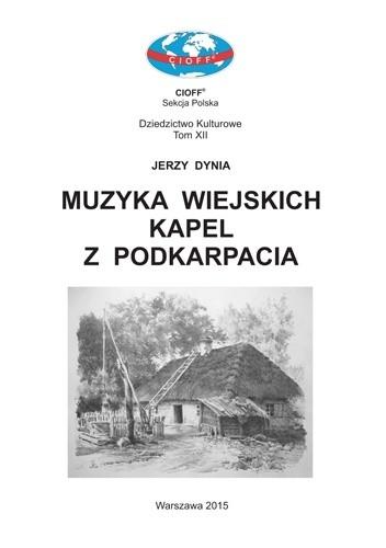 Okładka książki Muzyka wiejskich kapel z Podkarpacia