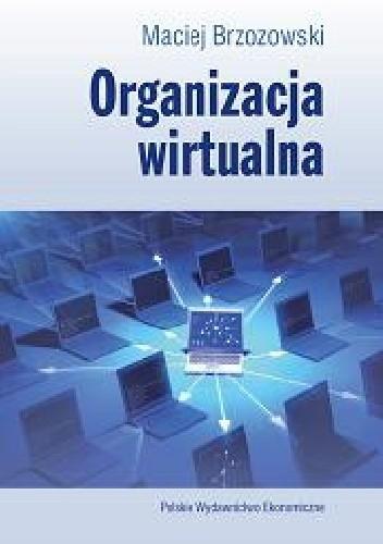 Okładka książki Organizacja wirtualna