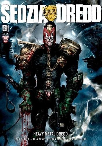 Okładka książki Sędzia Dredd - Heavy Metal Dredd