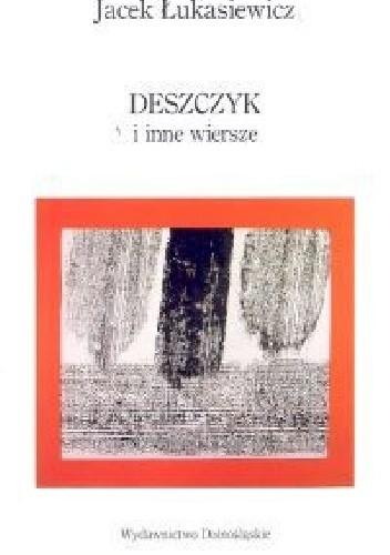 Okładka książki Deszczyk i inne wiersze