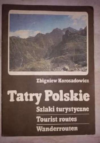 Okładka książki Tatry Polskie. Szlaki turystyczne
