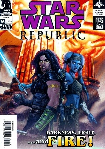 Okładka książki Star Wars: Republic #76