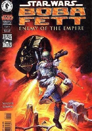 Okładka książki Boba Fett - Enemy of the Empire #1