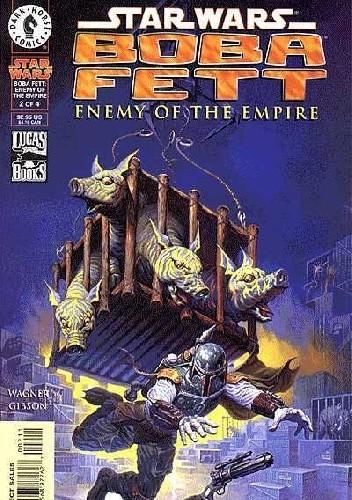 Okładka książki Boba Fett - Enemy of the Empire #2