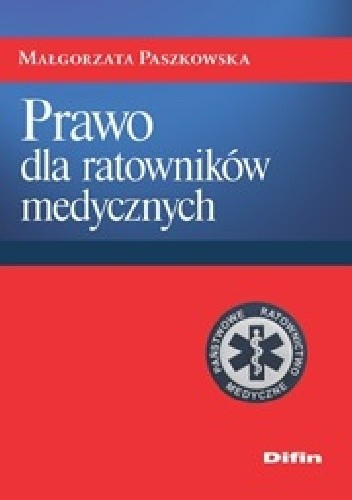 Okładka książki Prawo dla ratowników medycznych