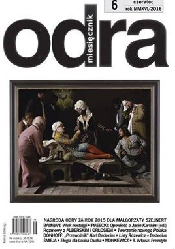 Okładka książki Odra nr 6/2016