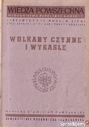 Okładka książki Wulkany czynne i wygasłe