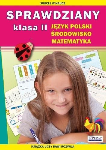 Okładka książki Sprawdziany. Klasa 2. Język polski, środowisko, matematyka