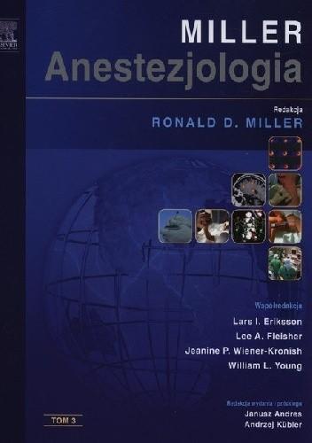 Okładka książki Anestezjologia Millera. Tom 3